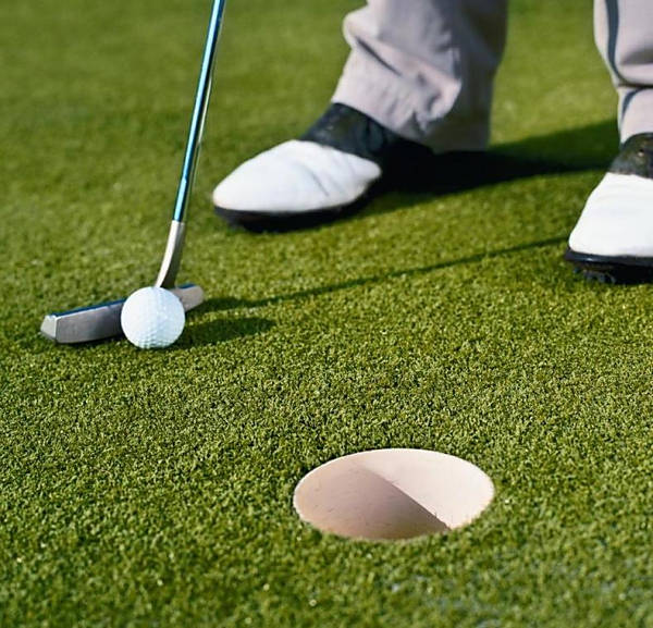 Artificial Turf Putting Green Installation in Del Mar, Top Rated Synthetic Grass Golf Putting Green