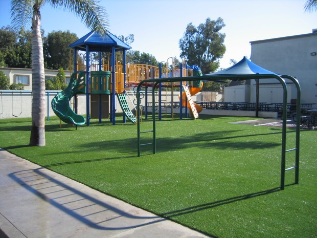 Synthetic Turf Playground Installation Del Mar, Artificial Grass Playground Company