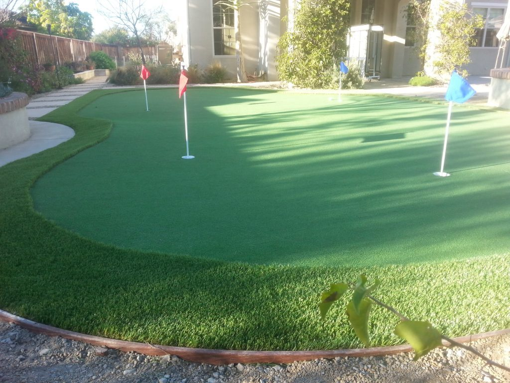 Putting Greens Installation Del Mar, Golf Putting Greens Contractor